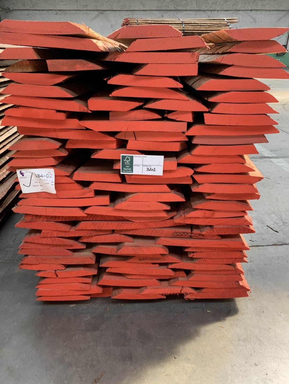 进口榉木板材(毛边)
